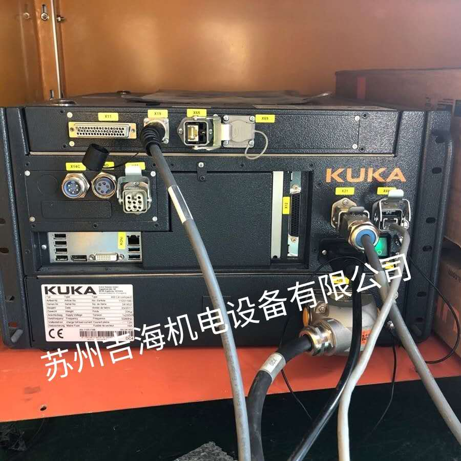 库卡KUKA控制器的保险丝烧断相关故障维修检测分析